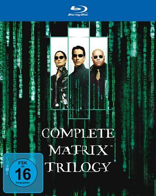 The Complete Matrix Trilogy - 1+2+3 - (Reloaded / Revolutions) # 3-BLU-RAY-NEU