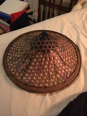 Asian Rice Paddy Authentic Burmese Hand Made Hat