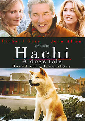 HACHI - A DOG'S TALE 2010 dvd Man & Dog RICHARD GERE Joan Allen TRUE Mint
