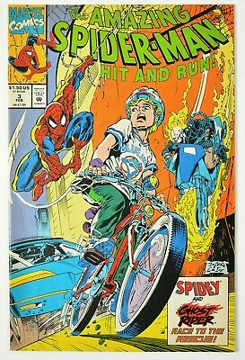 The Amazing Spider-Man: Hit and Run #3 Canadian Copy  (Feb 1993, Marvel)  (B270)