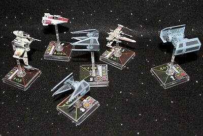 1.0 Star Wars X-Wing Miniatures Game Ships