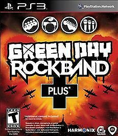 Green Day: Rock Band Plus (Sony PlayStation 3, 2010)