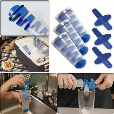 Creative Mighty Ice Cube Cap Freeze Silicone Combo Mold 3 kits Ice Ball Maker !R