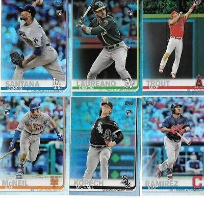 2019 Topps Series 1 & 2 Rainbow Foil Parallel You Pick/Choose The Card