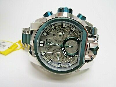 Reserve Watch 48 Chronograph Dial 27709178 Silver Men's Invicta Nv0wm8n