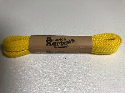135753bda3 Doc Dr Martens Air Wair Original Shoe Laces NEW Flat Yellow 90 cm 36 in 4