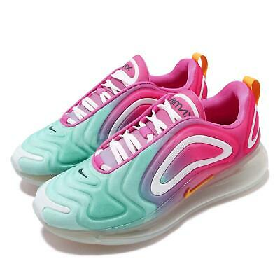 the best attitude db9c9 3cee5 Nike Wmns Air Max 720 Teal Tint Gold Pink Womens Running Shoes CJ0567-300