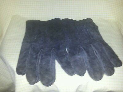 Pair Of Suede / Leather Driving Gloves ### Reduced To Clear
