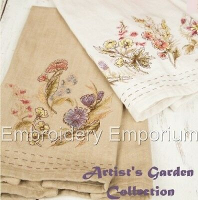 Artist's Garden Collection - Machine Embroidery Designs On Cd Or Usb
