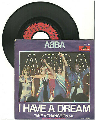 "Abba, I have a dream, G/GV, 7"" Single, 9-1738"