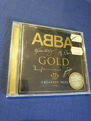 ABBA Gold Greatest Hits 25th Anniversary Signature Issue