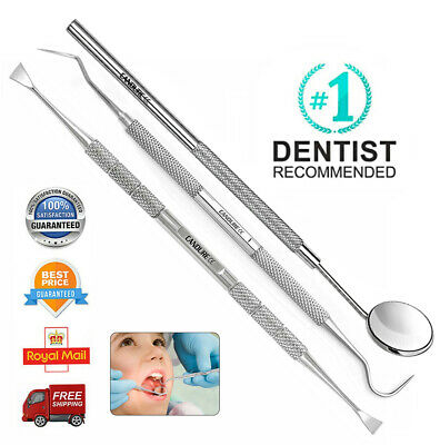 Dental Teeth Cleaning whitening Kit Scraper Tool Calculus Plaque Floss Remover