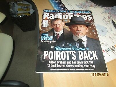 RADIO TIMES MAGAZINE, December 01 to 07 2018, Xmas Review, Excellent Condition
