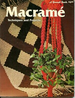 Macrame - Techniques and Projects - A Sunset Book