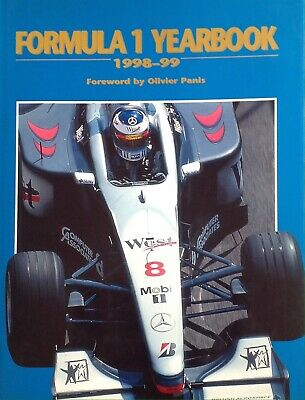 Formula 1 Yearbook 1998-99 Signed By 17 Hill, Schumacher Prost Etc Aftal#198