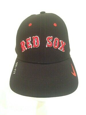 pretty nice 87e83 a612e Boston Red Sox Nike MLB Vapor swooshflex Dri Fit Stretch fit hat M L Navy