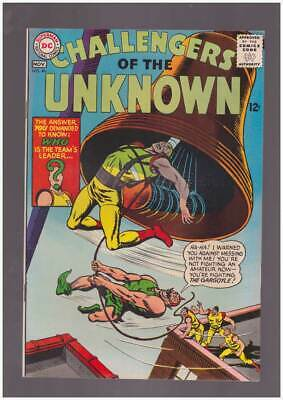 Challengers of the Unknown # 46  Fighting the Gargoyle ! grade 9.0 scarce book !