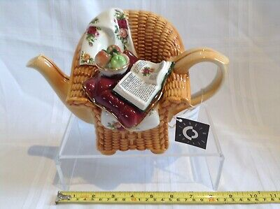 Cardew Royal Albert Old Country Roses Collectable Novelty Medium Teapot Perfect