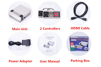 HDMI Mini Classic Edition Entertainment Game Console Built-in 621 Games For NES