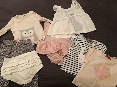 Girls COUNTRY ROAD, BEBE Bulk Size 1 Clothing Bundle + Sprout