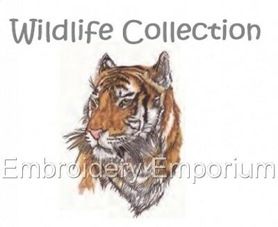 Wildlife Collection - Machine Embroidery Designs On Cd Or Usb