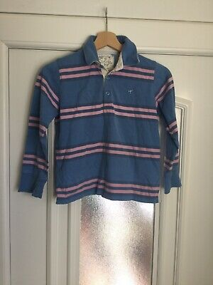 Girls Joules Long Sleeve Polo / Rugby Top Size 11-12 Years