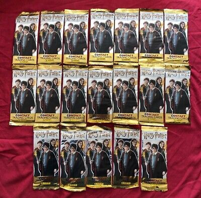 Harry Potter Contact Trading Cards - x 19 Packs - Panini