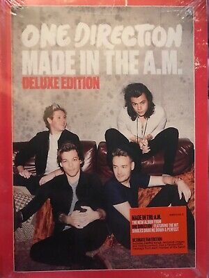 1 CENT CD Made in the A.M. [Deluxe Edition] - One Direction HARDCOVER BOOK