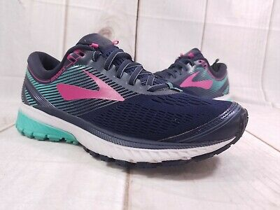 611ed3ec7a5 BROOKS GHOST 10 Women s Running Shoes Size 5 Blue 1202461B451 NEW ...
