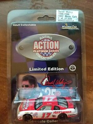 1997 ACTION 1:64 #17 Darrell Waltrip Parts America Chrome
