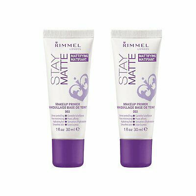 Rimmel Stay Matte Primer, 1 Ounce, 2 Count