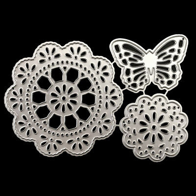 Tassel circle butterfly Metal Cutting Dies For Scrapbooking Card Paper Albu Nz