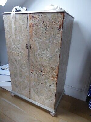 1920's  Shabby Chic Decorative  Embossed Leather Bedroom furniture.