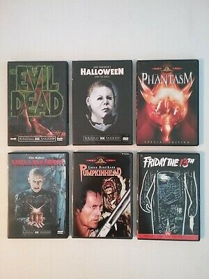 RARE Ultimate Original Horror 1st-in-series Widescreen Edition DVD Super Pack
