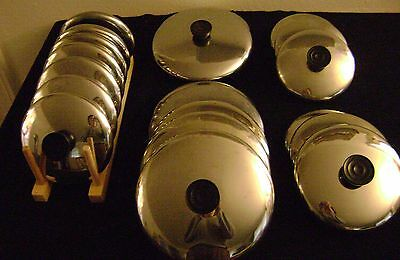 Revere Ware Replacement Lids -Various Sizes- You Chooose-Vintage
