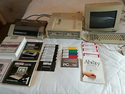 Amstrad pc 1512  and Extras