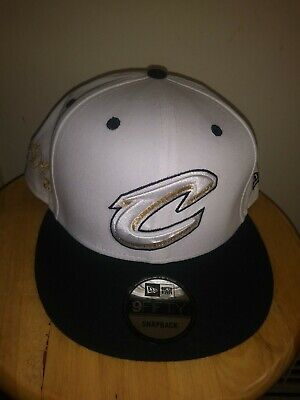61caf84dbc9 Lebron James Gold Signature Cap New Era Snapback NBA Cleveland Cavaliers Hat  USA