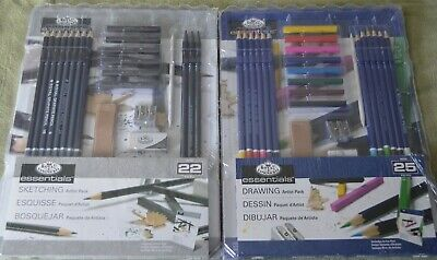 "BRAND NEW ~ ROYAL & LANGNICKEL ESSENTIALS   ""Drawing or Sketching Sets"""