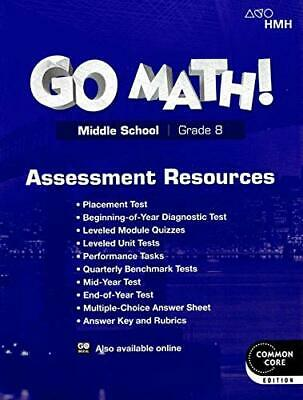 GO MATH MIDDLE school grade 6 common core edition - $12 50
