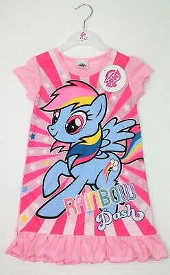 Girls MY LITTLE PONY Summer Short Sleeved Nightdress Sleepsuit 2-3 Yrs BNWT