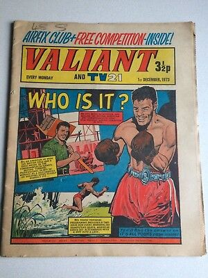 Valiant And Tv 21 Comic From 1St December 1973