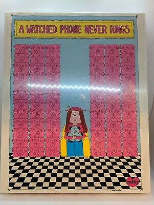 A Watched Phone Never Rings Jigsaw Puzzle  Sealed