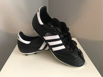 97d4bf872 Adidas Mens Size 11.5 Copa Mundial Performance Black Leather Soccer Cleats  New