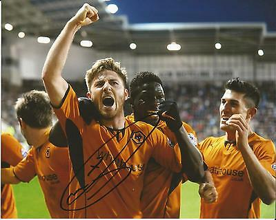 Hand Signed 8x10 photo JAMES HENRY Wolves Wolverhampton Wanderers Football Club