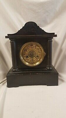 Antique Mantle Clock in Good working order HAC Württenberg Germany