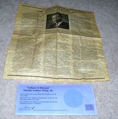"""""""i Have A Dream"""" Martin Luther King, Jr  Historical Documents Company New"""