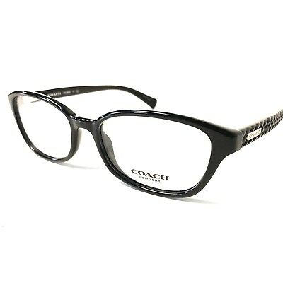 256820a66f6d COACH EYEGLASSES 6067 HC6067 Black Optical Women s Frame 52mm ...