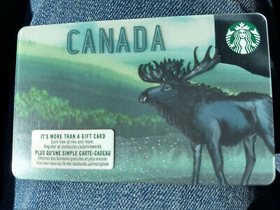 Brand New 2019 Starbucks Canada Gift Card