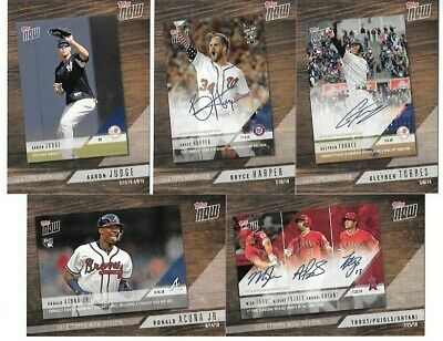 2019 Topps Now Series 1 Review You Choose/Pick Your Card