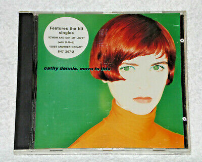 Music Cd Album Cathy Dennis Move To This  Lp 10 Tracks D-Mob Polydor
